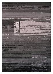 LA Rug URBAN Multi Grey Tone Area Rug (5 by 7 Foot) 225-90