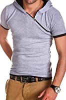 MT Styles 2in1 Hooded T-Shirt BS-655