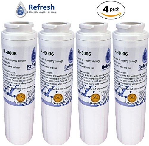 (4) Maytag UKF8001 FILTER 4 PUR Water Filter Replacement by Refresh - EDR4RXD1 Maytag Refrigerator Water Filter UKF8001AXX, UKF8001AXX-750, Whirlpool 4396395, 4-Pack (Refrigerator 4 Filter Pur compare prices)