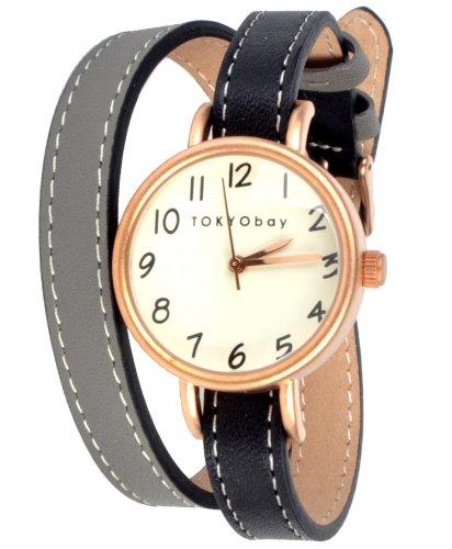 Tokyobay Dopio Watch - Black