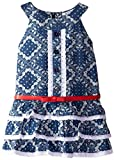 Hartstrings Little Girls' Girl's Cotton Denim Dress