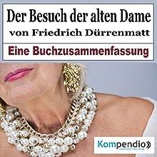 Der Besuch der alten Dame von Friedrich Dürrenmatt: Eine Buchzusammenfassung Hörbuch von Robert Sasse, Yannick Esters Gesprochen von: Yannick Esters