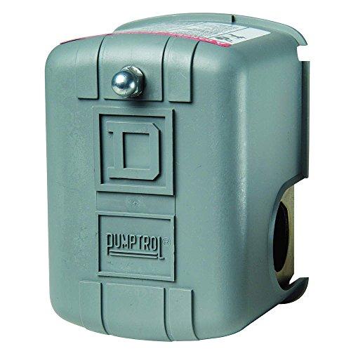 """Pressure Switch, Dpst, 20/40 Psi, 1/4"""" Fnps 9013Fsg2J20"""