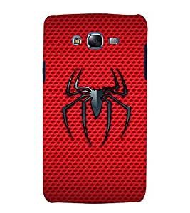 printtech Spider Mesh Back Case Cover for Samsung Galaxy J5 / Samsung Galaxy J5 J500F