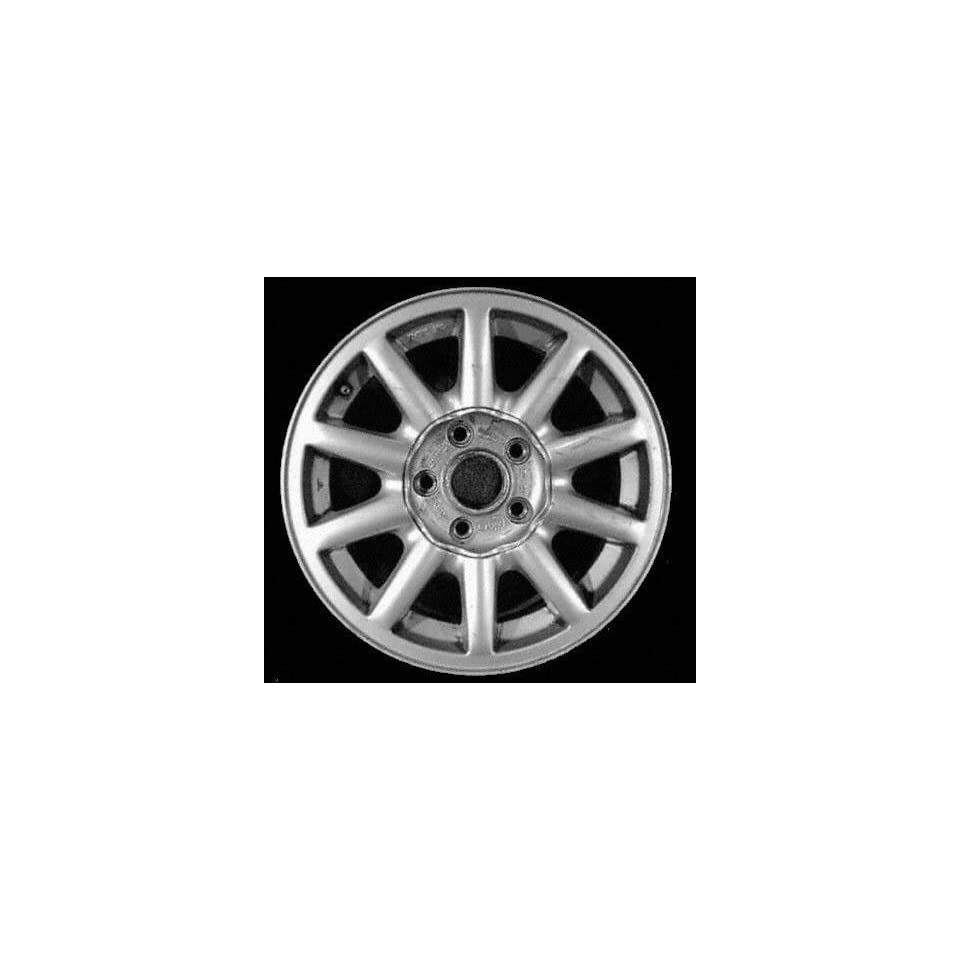 93 94 AUDI 100 ALLOY WHEEL RIM 15 INCH, Diameter 15, Width 7 (10 SPOKE), 45mm offset, SILVER, 1 Piece Only, Remanufactured (1993 93 1994 94) ALY58683U10
