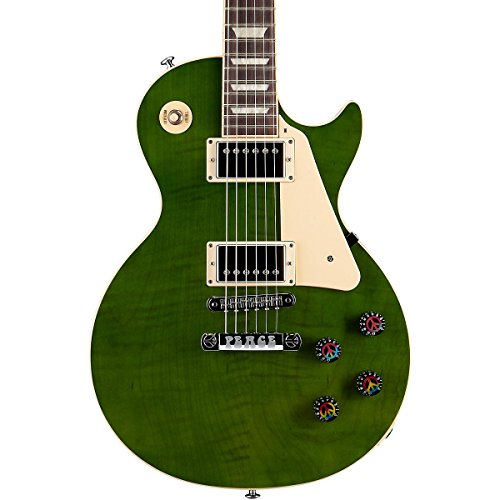Gibson Usa Lppcmorc1 Lp Peace 2014 Solid-Body Electric Guitar, Mellow Out Green Min-Etune
