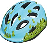 ABUS Kinder Fahrradhelm Smiley, Croco family, 45-50 cm Picture