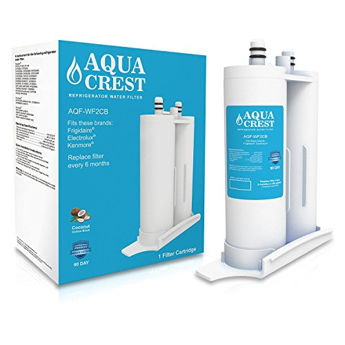 AQUACREST Frigidaire PureSource2 Water Filter Replacement for WF2CB, Kenmore 46-9911, Electrolux EWF2CBPA, FC100, SWF2CB, NGFC2000, 1 Pack (Kenmore Refrigerator Water System compare prices)
