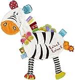 """Label Label Schmusetier Friends """"Zebra"""" - schwarz/weiß"""