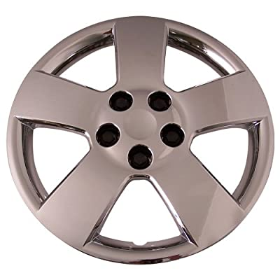 Set of 4 Chrome 16 Inch Chevy Cruze & HHR Hubcaps w/ Bolt On Retention System - Aftermarket : IWC459/16C