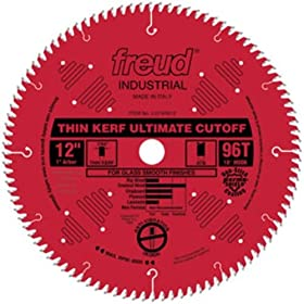 31% off Freud LU74R012 12-Inch 96-Tooth ATB Thin Kerf Cut-Off Saw Blade with 1-Inch Arbor and PermaShield Coating 51424q92K2L._SL500_AA280_