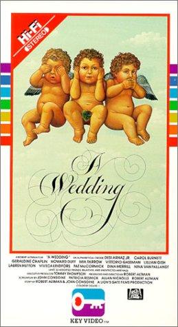A Wedding [VHS]