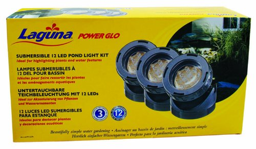 Laguna Powerglo Led Mini Pond Light Kit With 3 12-Bulb Led Lights