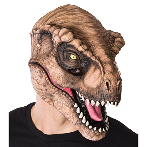 Jurassic World T. Rex Adult 3/4 Vinyl Mask