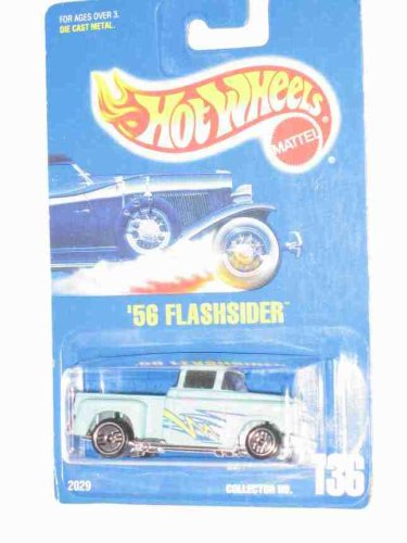 Hot Wheels #136 Flashsider Black Windows UH Wheels 1:64 Scale - 1