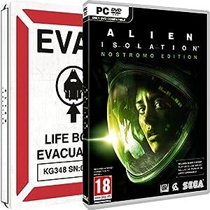 Alien: Isolation - Nostromo Steelbook (Amazon.co.uk Exclusive) (PC DVD)