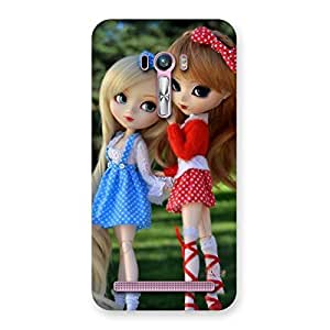 Delighted Sister Doll Multicolor Back Case Cover for Zenfone Selfie