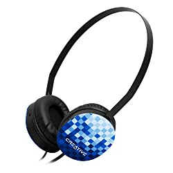 Creative HQ-1450 Headphones (Blue)