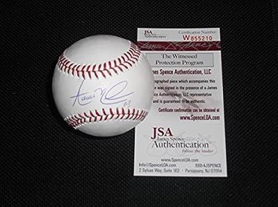 Aaron Nola Philadelphia Phillies Autographed Signed Official Major League Baseball JSA WITNESS COA