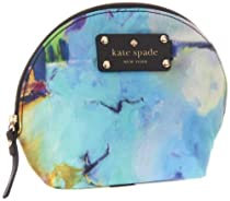 Hot Sale Kate Spade New York Abstract Garden-Keri  Cosmetic Case,Abstract,One Size