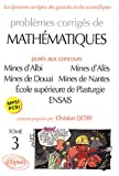 Mathmatiques Mines d'Albi, Als, Douai, Nantes, cole suprieure de Plasturgie, ENSAIS, tome 3 : MPSI-PCSI