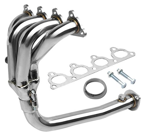 DNA MOTORING HDS-HC88-41 Stainless Steel 4-2-1 Exhaust Header for Honda D-Series (Honda Del Sol Exhaust compare prices)