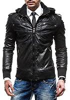 BOLF - Veste - Faux cuir - Fermeture éclair - SAROW MO62 - Homme