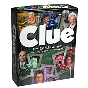 CLUE Card Game!