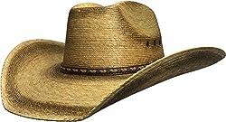 BULL-SKULL HATS, PALM LEAF COWBOY HAT, SECONDS 401