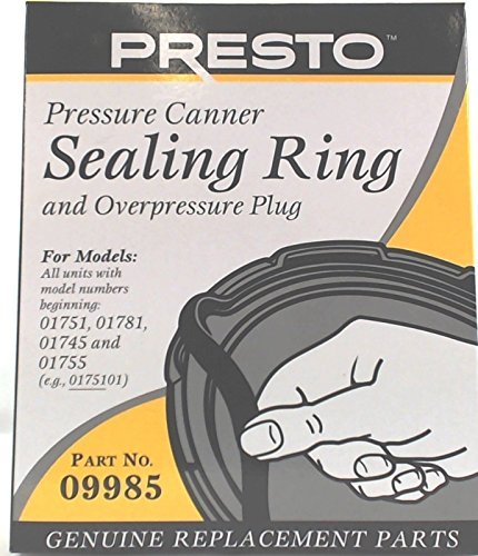 New Presto Pressure Cooker Sealing Ring #09985 by Presto (Presto 01781 Pressure Cooker compare prices)