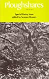 img - for Ploughshares Spring 1984 Guest-Edited by Seamus Heaney book / textbook / text book
