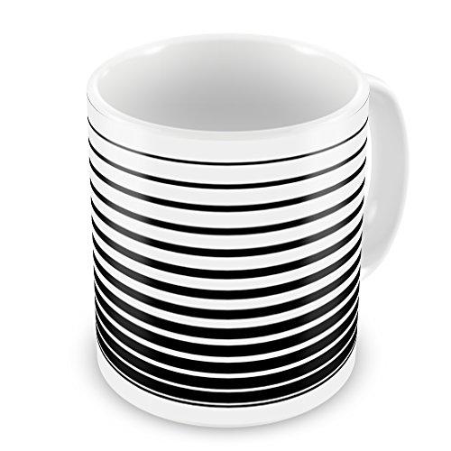 Coffee Mug Doppler Effect, Stripes - Neonblond