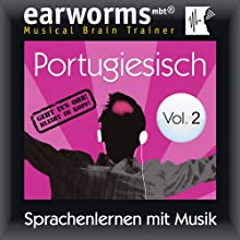 Portugiesisch (vol.2): Lernen mit Musik Speech by  earworms learning Narrated by Uli Holler, Ana Valdez