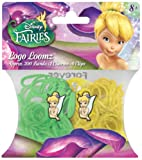 Disney Fairies Tinkerbell Loom Bands and Charm Pack (200 Bands, 6 Clips and 1 Charm)