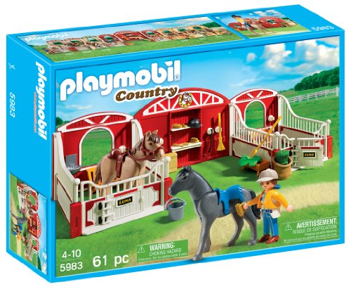 Playmobil Country Pony Stable front-963147