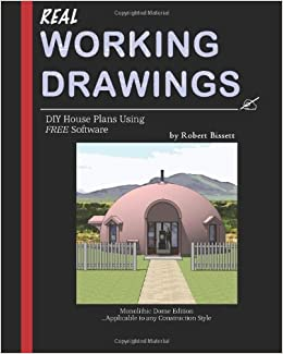 Real working drawings diy house plans using free software for Diy house plans software
