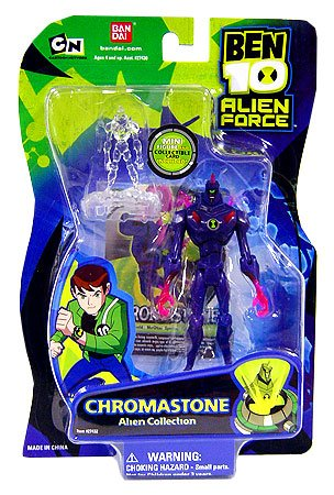 Ben 10 Alien Force Bandai Figure Chromastone (Ben 10 Alien Force Figure compare prices)