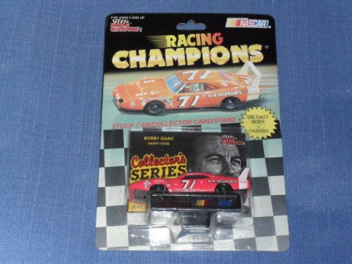 1992 NASCAR Racing Champions . . . Bobby Isaac #71 Dodge 1/64 Diecast . . . Includes Collector's Card and Display Stand