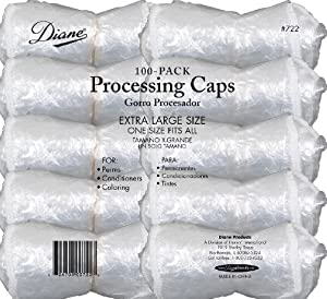 Diane Processing Caps, 100-pack
