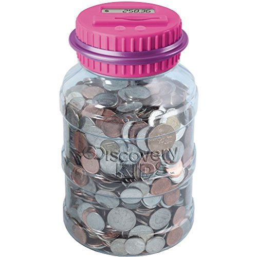 Discovery Kids Digital Money Counting Coin Bank