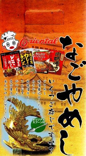 オリエンタル なごやめしセット4食セット 760g(名古屋どてめし160g、肉味噌カレー180g、あんけかスパゲティーソース150g、カレーうどん三河赤鶏270g)