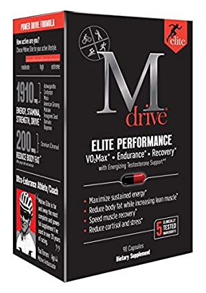 Mdrive Elite Energizing Testosterone Booster