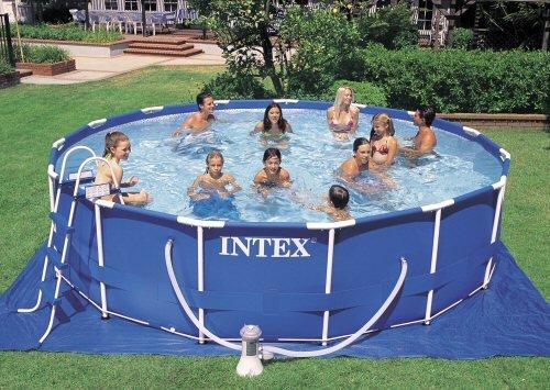 Most People Prefer Intex 15 X 42 Metal Frame Pool Set