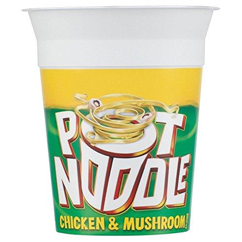 Pot Noodle Chicken & Mushroom Flavour (90g) ポットヌードルチキンとマッシュルームの風味( 90グラム)