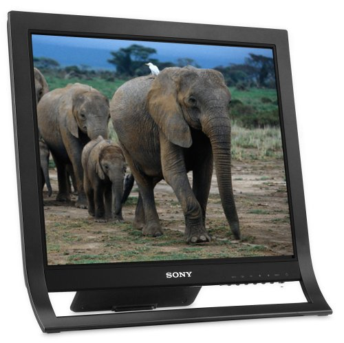 "Sony Xbrite Sdm-Hs75P/B 17"" Lcd Monitor (Black)"
