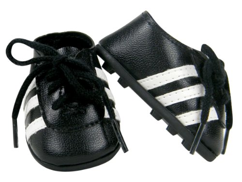 18 Inch Doll Shoes, Soccer Cleats by Sophia's - 1