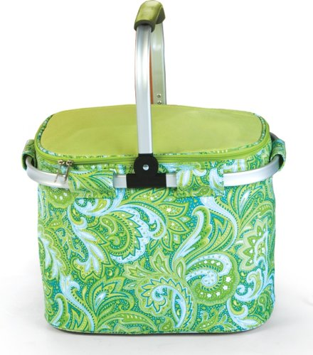 picnic-plus-shelby-collapsible-insulated-shopping-tote-green-paisley