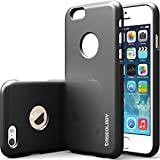 """iPhone 6 Case, Caseology [Drop Protection] Apple iPhone 6 (4.7"""" inch) Case [Black] Slim Fit Skin Cover [Shock Absorbent] TPU Bumper iPhone 6 Case [Made in Korea] (for Apple iPhone 6 Verizon, AT&T Sprint, T-mobile, Unlocked)"""