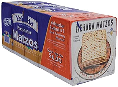 Yehuda Imported Passover Matzos, 5 - 1 lb Packages from Yehuda