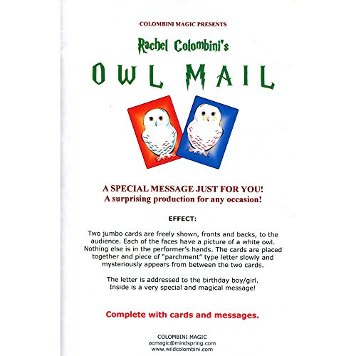 MMS Owl Mail by Wild-Colombini Magic Trick
